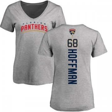 Women's Mike Hoffman Florida Panthers Backer T-Shirt - Ash