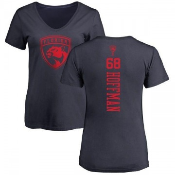 Women's Mike Hoffman Florida Panthers One Color Backer T-Shirt - Navy