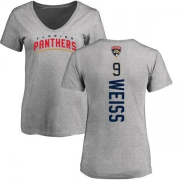 Women's Stephen Weiss Florida Panthers Backer T-Shirt - Ash