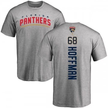 Youth Mike Hoffman Florida Panthers Backer T-Shirt - Ash