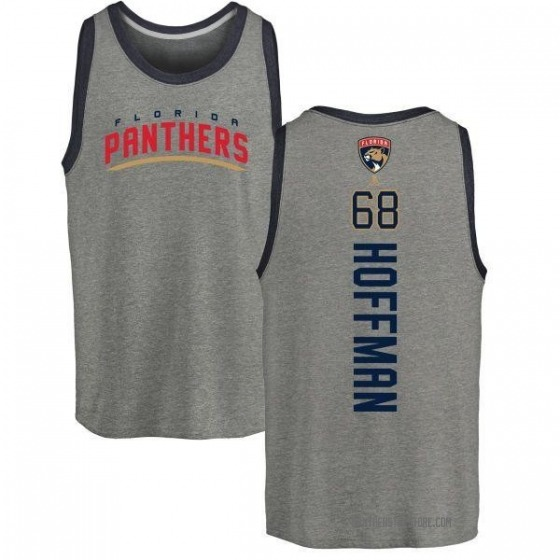Youth Mike Hoffman Florida Panthers Backer Tri-Blend Tank Top - Ash