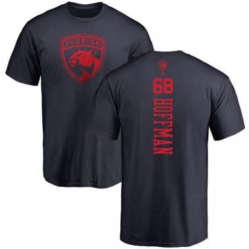 Youth Mike Hoffman Florida Panthers One Color Backer T-Shirt - Navy